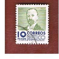 MESSICO (MEXICO) -  SG  1013ab  - 1975  F.I.  MADERO  -  USED° - Messico