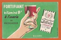 BUVARD / BLOTTER : Fortifiant Vitaminé B1 A L ' UVARIA  MADAGASCAR - Food