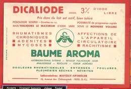 BUVARD / BLOTTER  :  Pharmacie :DICALIOSE  Buame Aroma - Chemist's