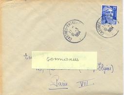 CASTRES-ENTREPOT TARN TàD 10-3-1954 - Marcophilie (Lettres)
