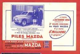 BUVARD / BLOTTER  :: Piles MAZDA M.TAVERNIER  Amiens - Piles