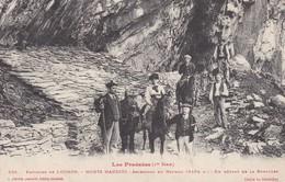 Cpa Dept 31  Environs De Luchon-monts Maudits-ascension Du Nethou - Un Départ De La Rencluse  (voir Scan Recto-verso) - France