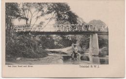 TRINIDAD B W J   SAN JUAN ROAD AND RIVER - Trinidad