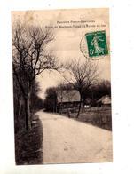 Carte Montreux Vieux Frontiere  Douanier Cachet - Otros Municipios
