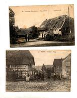 Carte Largitzen Ruine  Soldat - Frankrijk