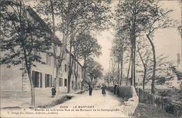 Ansichtskarte Le Martinet Grande Rue/Große Straße Und Unternehmenbüros 1900 - France