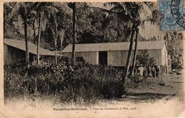 NOUVELLES HEBRIDES - RUE DU COMMERCE A VILA 1903 - Cartes Postales