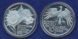 BRD 10 DM 1972F Olympische Spiele 1972 4. Ausg. PP  Ag625 - [ 7] 1949-…: BRD