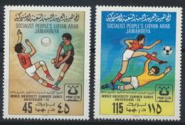 Libyen 752/53A ** Postfrisch - Libië