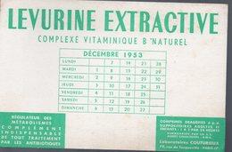 Paris Ru De Tocqueville : Buvard LEVURINE EXTRACTIVE (pharmacie) (PPP9204) - Chemist's