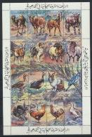 Libyen 1093/1108 Zusammendruckbogen ** Postfrisch - Libyen