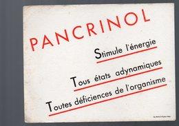 Paris Rue De Prony : Buvard PANCRINOL  (pharmacie) (PPP9207) - Chemist's