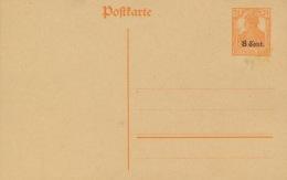 Etappengebiet West Ganzsache P2 * - Besetzungen 1914-18