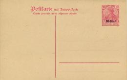 Etappengebiet West Ganzsache P5 F/A * - Besetzungen 1914-18