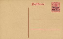 Landespost In Belgien Ganzsache P2 * - Besetzungen 1914-18