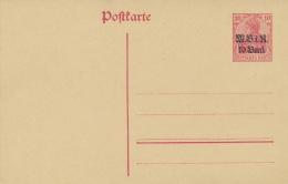 Deutsche Militärverwaltung In Rumänien Ganzsache P3 * - Besetzungen 1914-18