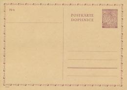 Böhmen Und Mähren Ganzsache P7 * - Boemia E Moravia