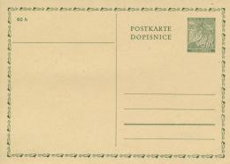 Böhmen Und Mähren Ganzsache P1 * - Briefe U. Dokumente