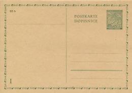 Böhmen Und Mähren Ganzsache P4 F/A * - Briefe U. Dokumente