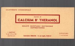 Paris  Rue Lagille : Buvard CALCIUM B1 THERANOL   (pharmacie) (PPP9210) - Chemist's