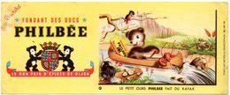 Buvard Pain D'épices Philbée, Philbée Fait Du Kayak - Gingerbread