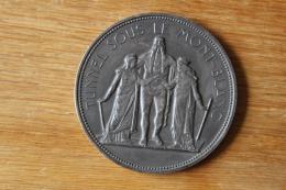 Medaille De Table Tunnel Sous Le Mont Blanc  1965 General De Gaulle - France
