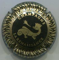 CAPSULE-CHAMPAGNE RENAISSANCE LA (coop) N°01 Noir & Or - Champagnerdeckel