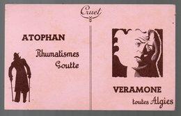 : Buvard ATOPHAN / VERAMONE  (pharmacie) (PPP9213) - Chemist's