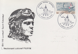 Carte   Journée  PORTES  OUVERTES     Base  Aérienne  116   LUXEUIL  LES  BAINS   1982 - Militaria