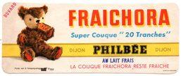 Buvard Pain D'épices Philbée, Philbée Fraichora Au Lait Frais. - Pain D'épices