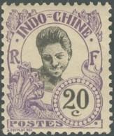Indochine 1904-1919 - N° 47 (YT) N° 47 (AM) Neuf *. - Indochine (1889-1945)