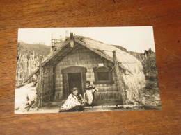 MAORI WHARE AT WHAKA , ROTORUA   N.Z - Nouvelle-Zélande