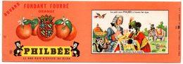 Buvard Pain D'épices Philbée, Philbée Illustration Dupleix Aux Indes. - Gingerbread