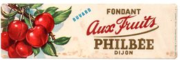 Buvard Pain D'épices Philbée, Philbée Fondant Aux Fruits. - Pain D'épices