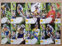 Telenet-Fidea - Cycling - Cyclisme - 2012 - 8 Cards - Cyclisme