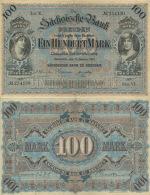 100 Mark 1911 Sächsische Bank Nr. SAX8a Serie VI   III - 1871-1918: Deutsches Kaiserreich