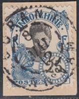 Indochine Province De L'Annam - Tourane Sur N° 48 (YT) N° 48 (AM). Oblitération. - Indochine (1889-1945)