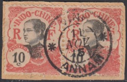 Indochine Province De L'Annam - Vinh Sur N° 45 (YT) N° 45 (AM). Oblitération. - Indochine (1889-1945)