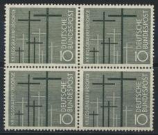BRD 4x248 Viererblock ** Postfrisch - BRD