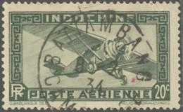 Indochine Province Du Cambodge - Battambang Sur Poste Aérienne N° 6 (YT) N° 6 (AM). Oblitération. - Indochine (1889-1945)