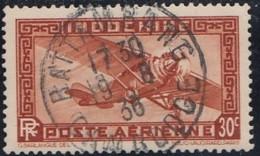 Indochine Province Du Cambodge - Battambang Sur Poste Aérienne N° 7 (YT) N° 7 (AM). Oblitération. - Indochine (1889-1945)
