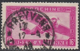 Indochine Province Du Cambodge - Preyveng Sur Poste Aérienne N° 17 (YT) N° 17 (AM). Oblitération. - Indochina (1889-1945)