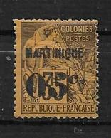 Colonie Martinique Timbres De 1888/91 N°13 Neuf *  Cote 25€ - Martinique (1886-1947)
