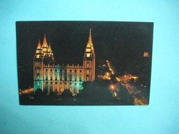 SALT LAKE CITY  -  Mormon Temple  -  UTAH  -  Etats Unis - Salt Lake City