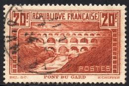 1929 N° 262 PONT DU GARD OBLITERE TB COTE > 60 € - Used Stamps
