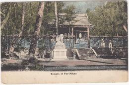 Temple Of Far-Nikko  - (Japan) - (M. Ettlinger & Co., The 'Royal' Series, London, E.C., Far Eastern Gems, Series 4818) - Japan