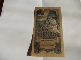 Billet Autriche 10 Shilling 1945 - Austria