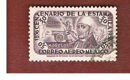 MESSICO (MEXICO) -  SG 939   - 1956  MORELOS &  CANNON     -  USED° - Messico