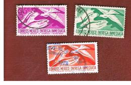MESSICO (MEXICO) -  SG E954.1346   - 1956  EXPRESS SERVICE    -  USED° - Messico