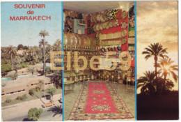 Maroc, Marrakech, Carte Multivue, Boutique, écrite - Mercanti